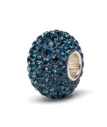 Navy Blue Crystal Charm Bead - $24.99