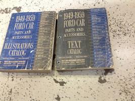 1949 1950 1952 1953 1955 1956 1957 1959 Ford Auto Teile Katalog Manuell ... - $89.09