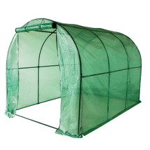 """Green House with PE Cover 114.8""""(L) x 77.4""""(W) x 76.4""""(H) - $99.99"""