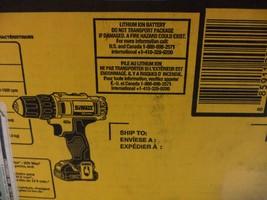 DEWALT DCD780C2 20-Volt Max Li-Ion Compact 1.5 Ah Drill/Contractor bag - $186.05