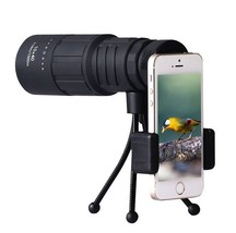 Monocular Telescope Optical 10x40 HD Telephoto Hiking for Smart Phone Ca... - $14.71