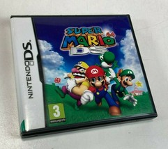 Super Mario 64 DS (Nintendo DS, 2004) with Case (EUROPEAN EDITION WORKS ... - $24.74