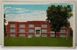Burlington N.C. High School Postcard F6 - $5.99