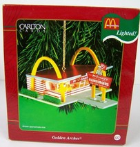 Carlton Cards Golden Arches McDonalds Christmas Ornament 2001 Restaurant... - $39.59