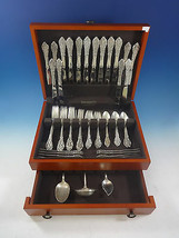 Florentine Lace by Reed & Barton Sterling Silver Flatware Service 8 Set 59 Pcs - $3,650.00