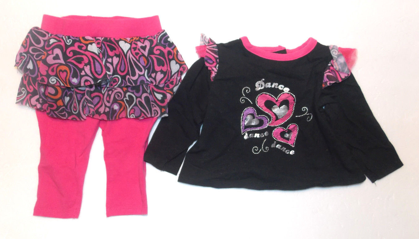 Disney Baby Cinderella Girls Size 3-6 Months 3-Piece Outfit