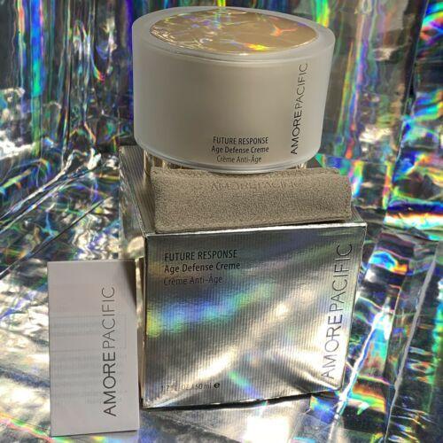 SEALED Amorepacific Future Response Age Defense Creme & Serum+ 8mL SPF30 +Bonus