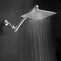 Mega-Size 9-inch Chrome Face Rainfall Shower with 15-inch Extension Arm ... - $49.99