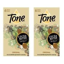 Tone Cocoa Butter Original Bar Soap 6 bars lot x 2 total 12 bars discontinued  - $54.45