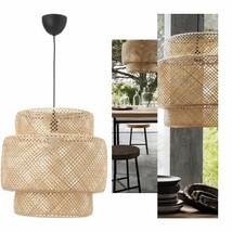 IKEA SINNERLIG Pendant Lamp, Bamboo, 703.150.30 - BRAND NEW - $149.99