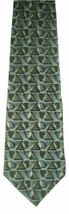 "George Machado Zylos Men's Silk Neck Tie Blue Black Gray Beige 62""L - $8.90"