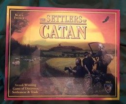 The Settlers of Catan Board Game 3061 Krause Teuber Mayfair Games Complete - $37.43