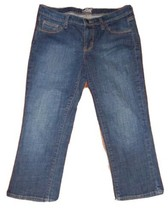 Old Navy Women's The Flirt Denim Blue Capri Jeans ~ Sz 4 ~ Mid Rise - $12.86