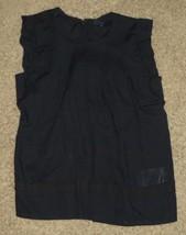 Gap Kids Navy Blue Pleated Neckline Shirt Top Size XL 12 X-Large - $17.65