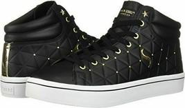 Skecher Street Women's Hi-Lite-Triangle De-Boss Sneaker, Black,8  M US - $49.49