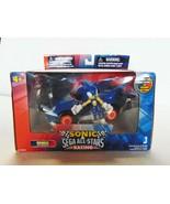 "Jazwares Sonic the Hedgehog & Sega All Stars Racing Race Car w/ 3"" Figur... - $90.01"
