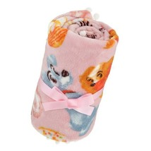 Disney store Japan Lady and the Tramp Sweets blanket polyester - $64.35