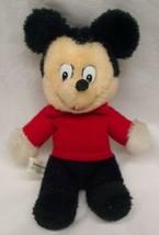 "Knickerbocker Vintage Walt Disney Mickey Mouse 7"" Plush Stuffed Animal - $24.74"