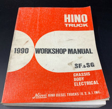 HINO Truck 1990 Workshop Repair Manual SF & SG Chassis Body Electrical 20-1 - $28.45