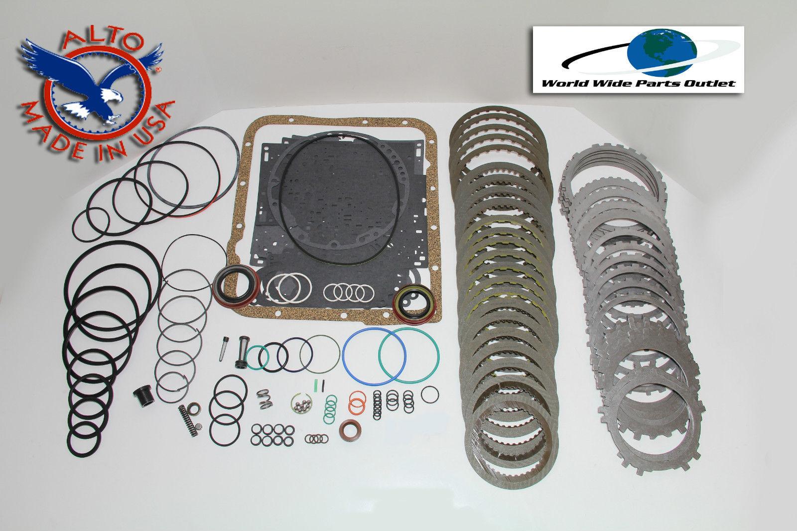 4L60E transmission rebuild kit heavy duty HEG master kit Stage 3 1993 1996