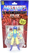 Mattel Masters of the Universe MOTU Evil-Lyn Retro Play Action Figure GNN90 - $25.73