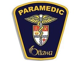 "4"" PARAMEDIC OTTAWA CANADA FIRE MADE IN USA DECAL STICKER - $13.53"
