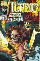 (CB-4) 1992 Marvel Comic Book: Terror Inc. #4 - $1.25