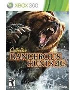 Cabela's Dangerous Hunts 2013 (Microsoft Xbox 360, 2012)G - $7.39