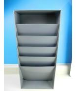Industrial Metal File Organizer 4 Pocket Storage Lit-Ning Model 1S Mid C... - $39.59
