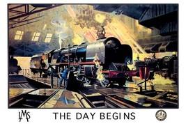 The Day Begins - L.M.S. - Art Print - $19.99+