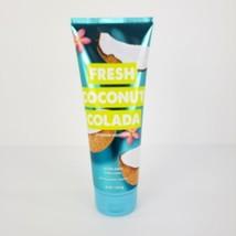 BBW Fresh Coconut Colada Body Cream Bath Body Works 8 oz Full Size Shea Butter - $11.85