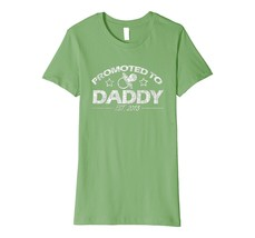 Funny Shirts - PREMIUM Promoted To Dad T-Shirt 2018 New Dad Daddy Gifts Wowen - $19.95+