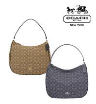 NWT COACH Signature Jacquard Zip Shoulder Bag Handbag Purse Luxury Brand... - $87.12+