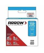 """Arrow Fastener 50CT Genuine T50 17/32"""" Staples 1250 per box - $6.43"""
