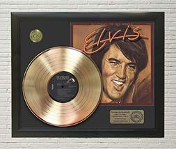 Elvis Presley Welcome To My World Framed Gold LP Display C3 - $151.95
