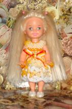 Handmade Crochet Dress For Kelly Barbie number  1045 - $4.00