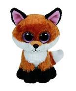 Opeo original ty boos 20 50cm slick brown fox plush large soft big eyed stuffed animal thumbtall