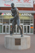 Smokin' Joe Frazier Statue 13 X 19 Unmatted Photograph - $35.00