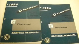 1996 CADILLAC FLEETWOOD Service Repair Workshop Shop Manual Set FACTORY OEM - $28.66