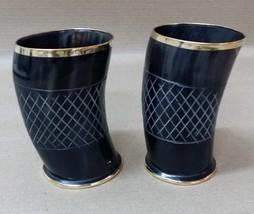 Viking Drinking Horn Cup Beer Wine Ale Mug Glass Game Throne mugs Mediev... - $32.73