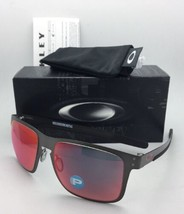 Polarisierend Oakley Sonnenbrille Holbrook Metall OO4123-05 Rotguss mit / Torch - $210.43