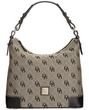 Dooney & Bourke Americana Signature Erica Hobo Black - $269.50