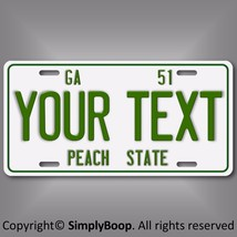 Vintage Retro 1951 Georgia Personalized Your Text Aluminum License Plate... - $14.84