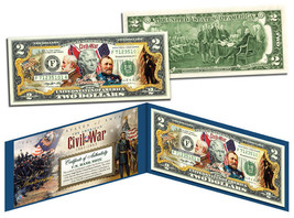 The American CIVIL WAR * 150th Anniversary *  OFFICIAL Legal Tender $2 U... - $13.06