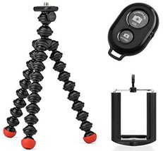 Joby GorillaPod Magnetic Tripod with Ivation Wireless Bluetooth Camera S... - $32.22