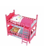 Hello Kitty Double Bunk Bed with Cushions, Futons and Characters - $13.85