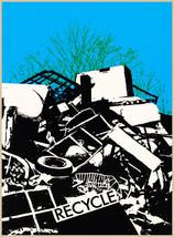 Designer decoration Poster.Recycle.Trash.Environment.Home decor print.q422 - $8.91+
