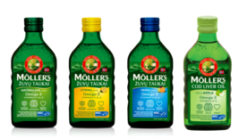 MOLLER'S Omega-3 Fish Oil 250ml Flavours Apple Tutti Frutti Lemon Natura... - $18.31+