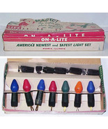 Vintage MAGIC ON-A-LITE Christmas Light Set IOB - $14.99