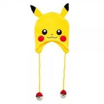 NEW Nintendo Pokemon Pikachu Pokeball 3D Laplander Winter Knit Beanie - $19.99